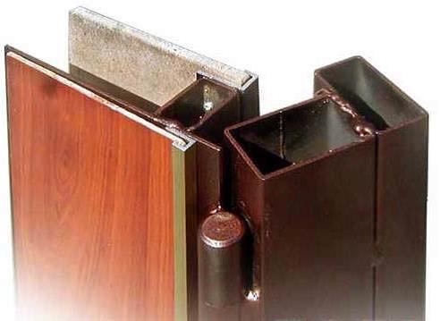 Металлические двери из профильной трубы своими руками